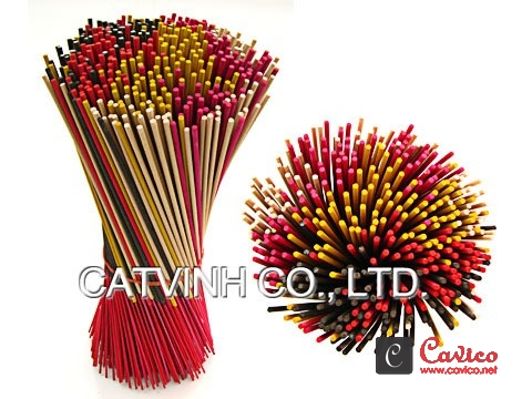 Colored-joss-stick-natural-incense-stick
