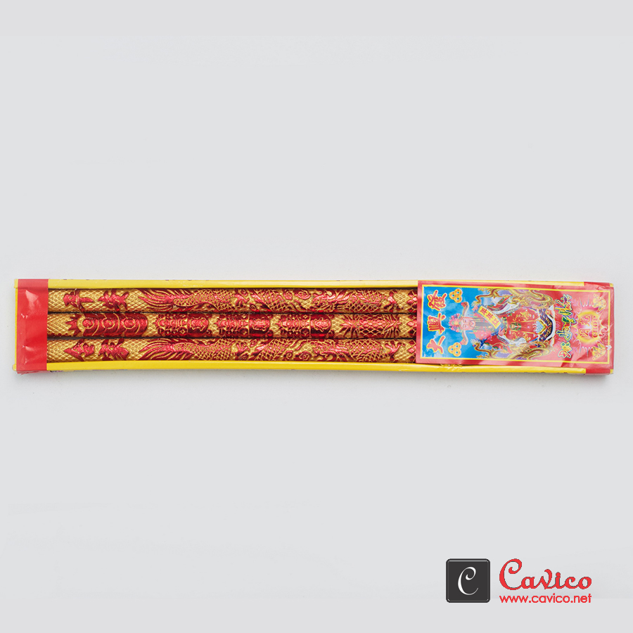 Dragon-Joss-stick-RedGold-3-piecesbox Dragon Joss stick- Red+Gold- 3 pieces/box